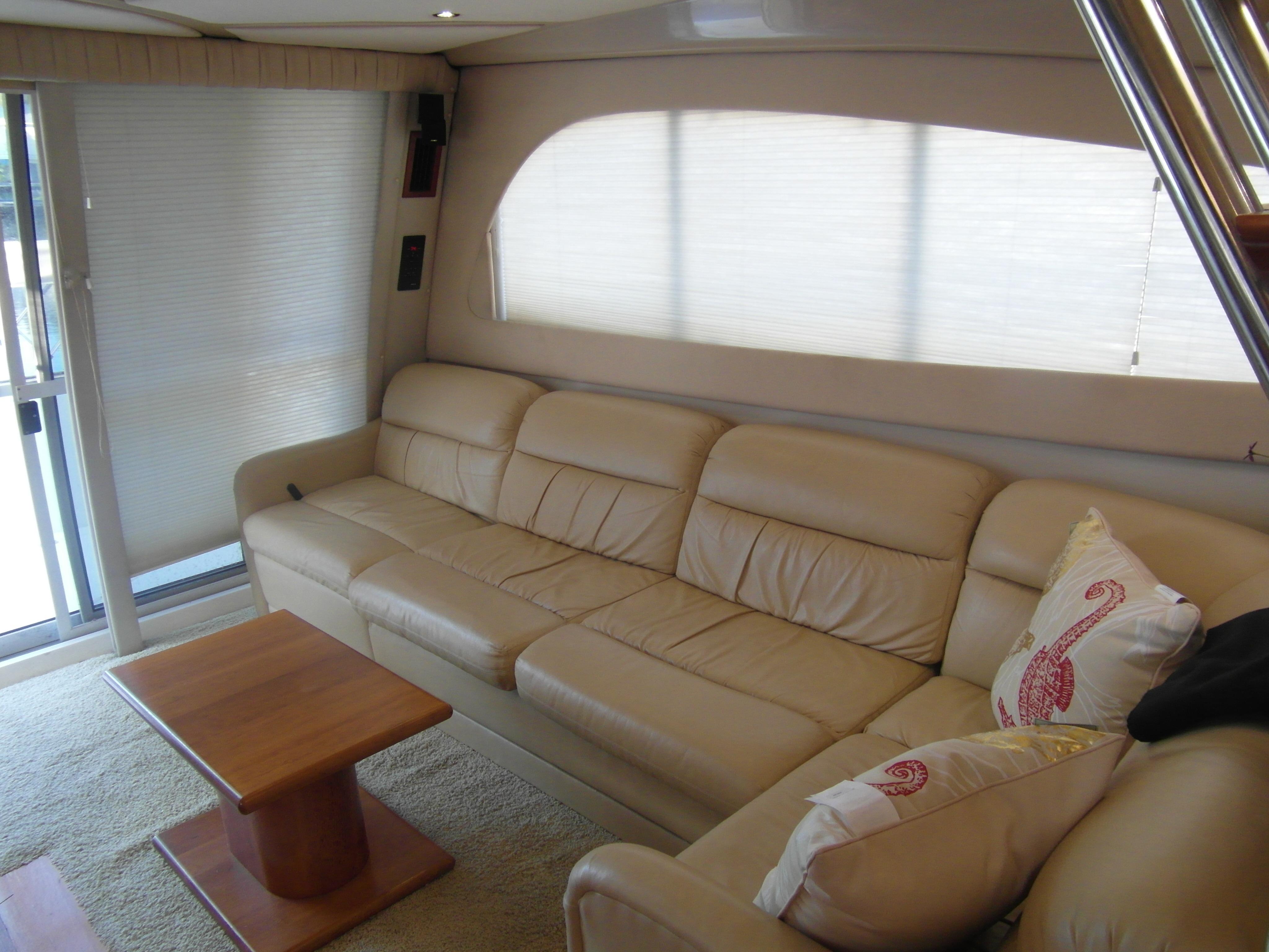2001 Cruisers 50 Salon Sofa