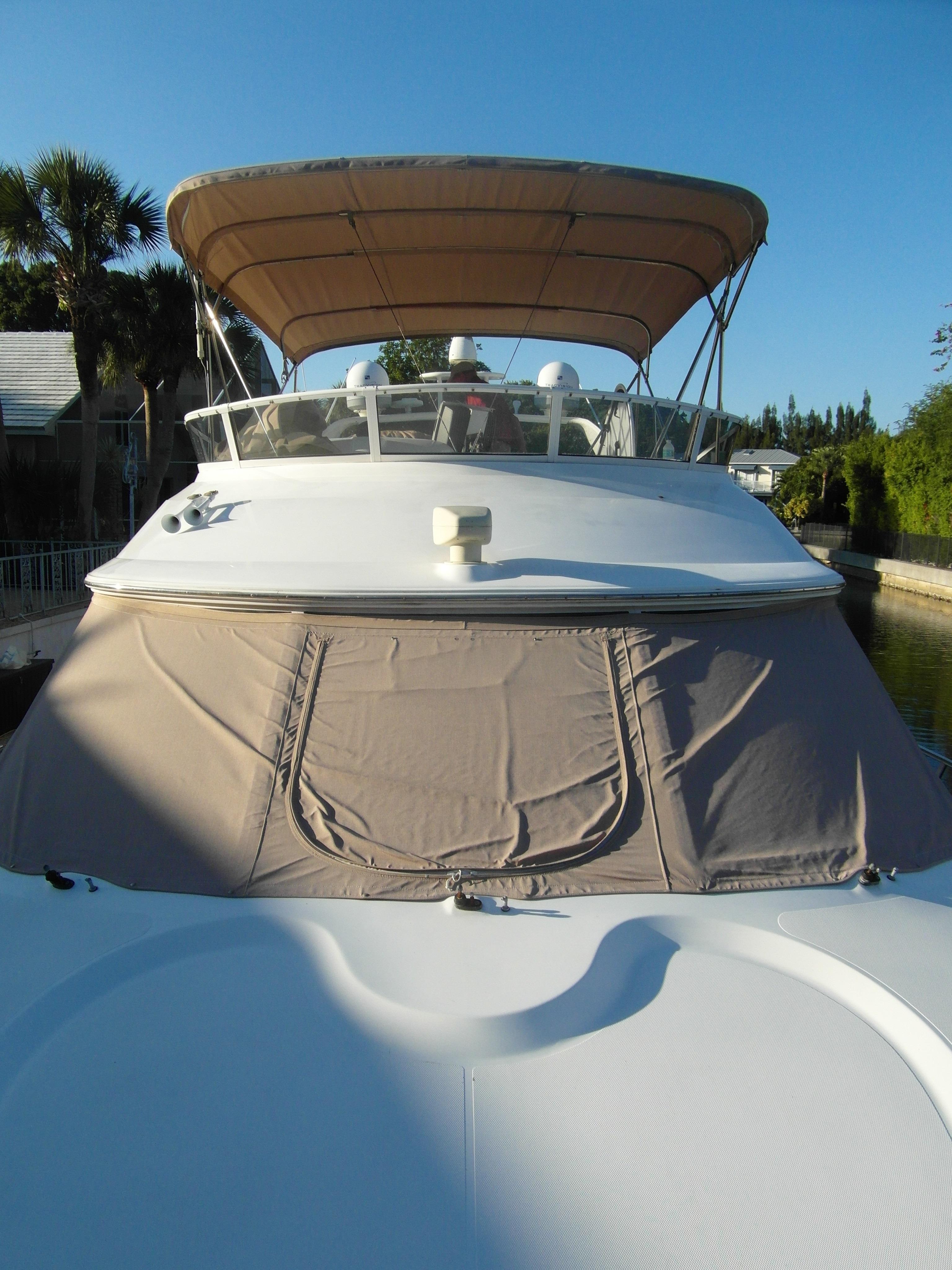 2001 Cruisers 50 Forward Deck / Windshield