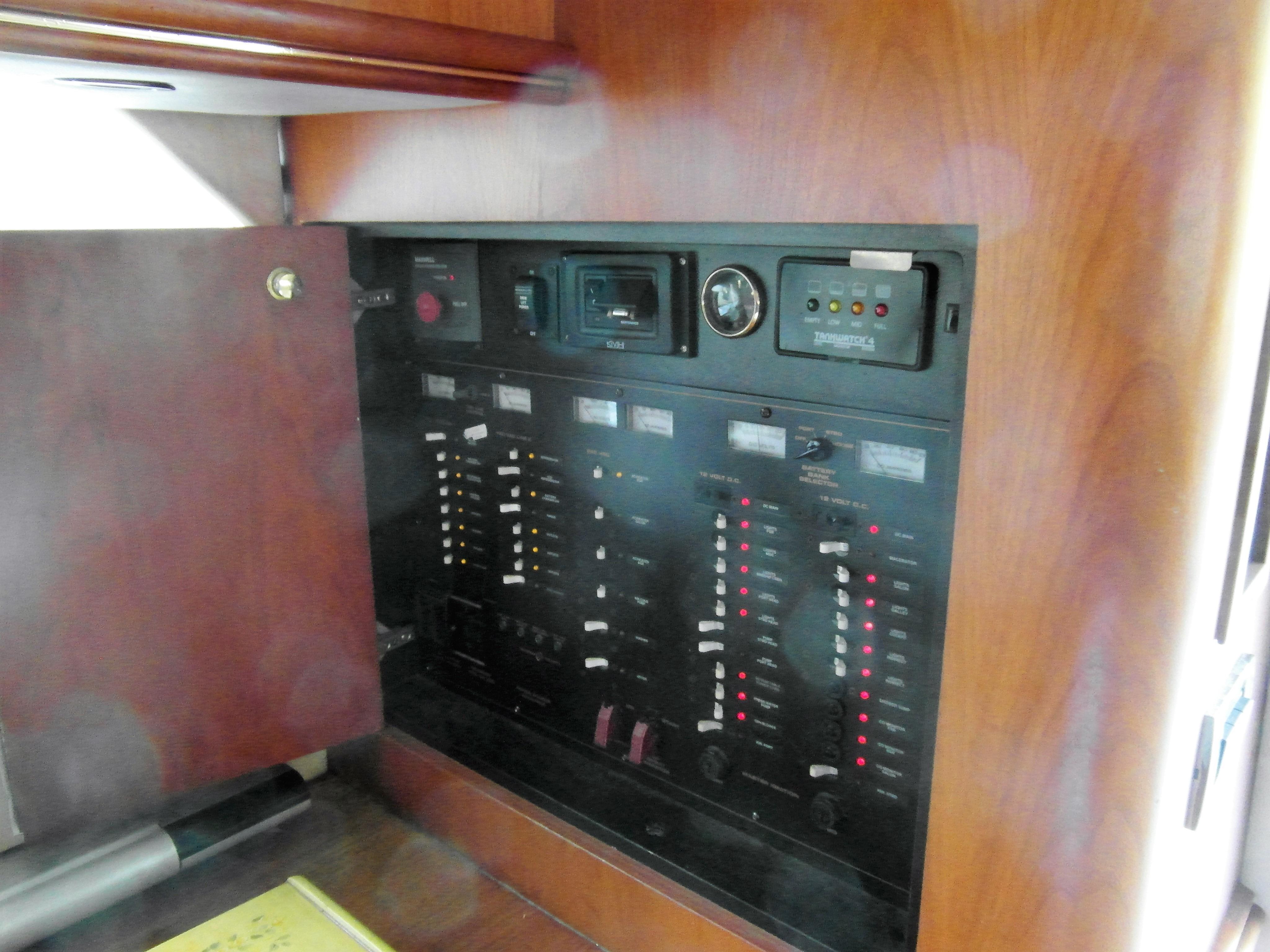 2001 Cruisers 50 Switch Board