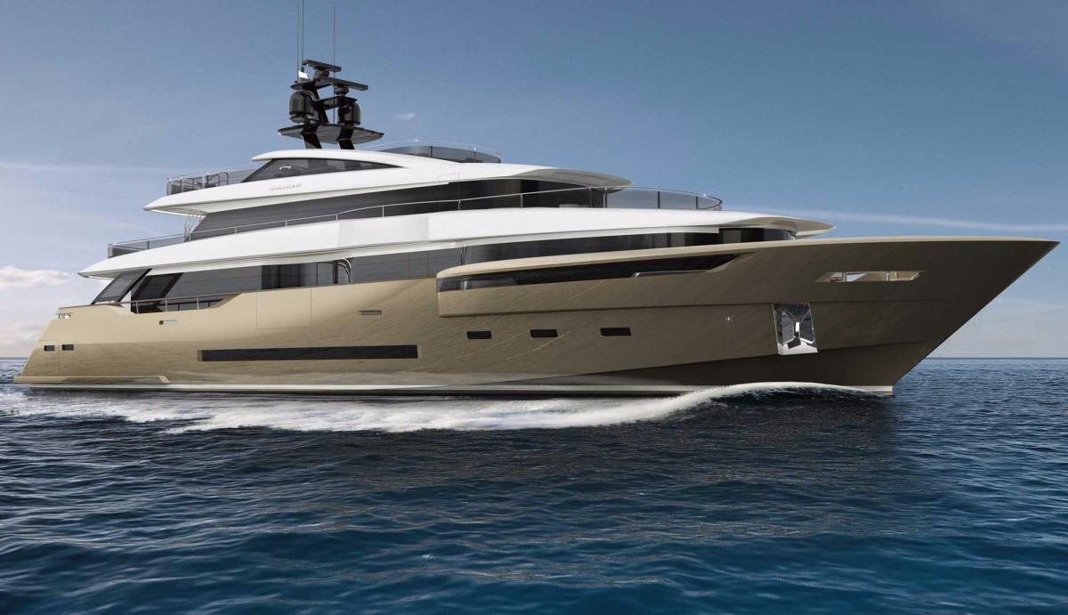 Manufacturer Provided Image: DREAMLINE 40 Gold Hull