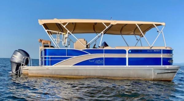 2014 SunCatcher boat for sale, model of the boat is elite & Image # 4 of 4