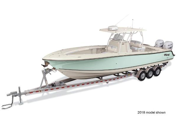 2021 Mako boat for sale, model of the boat is 334 CC & Image # 1 of 3