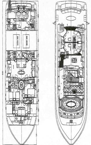 Lower Deck & Main Deck