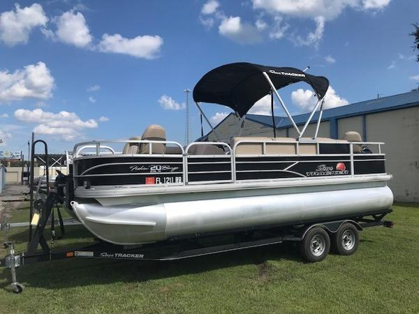 2016 SUN TRACKER FISHIN' BARGE 20 DLX for sale