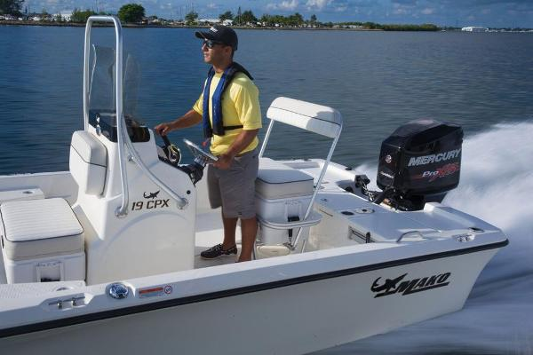2019 Mako boat for sale, model of the boat is 19 CPX & Image # 59 of 61