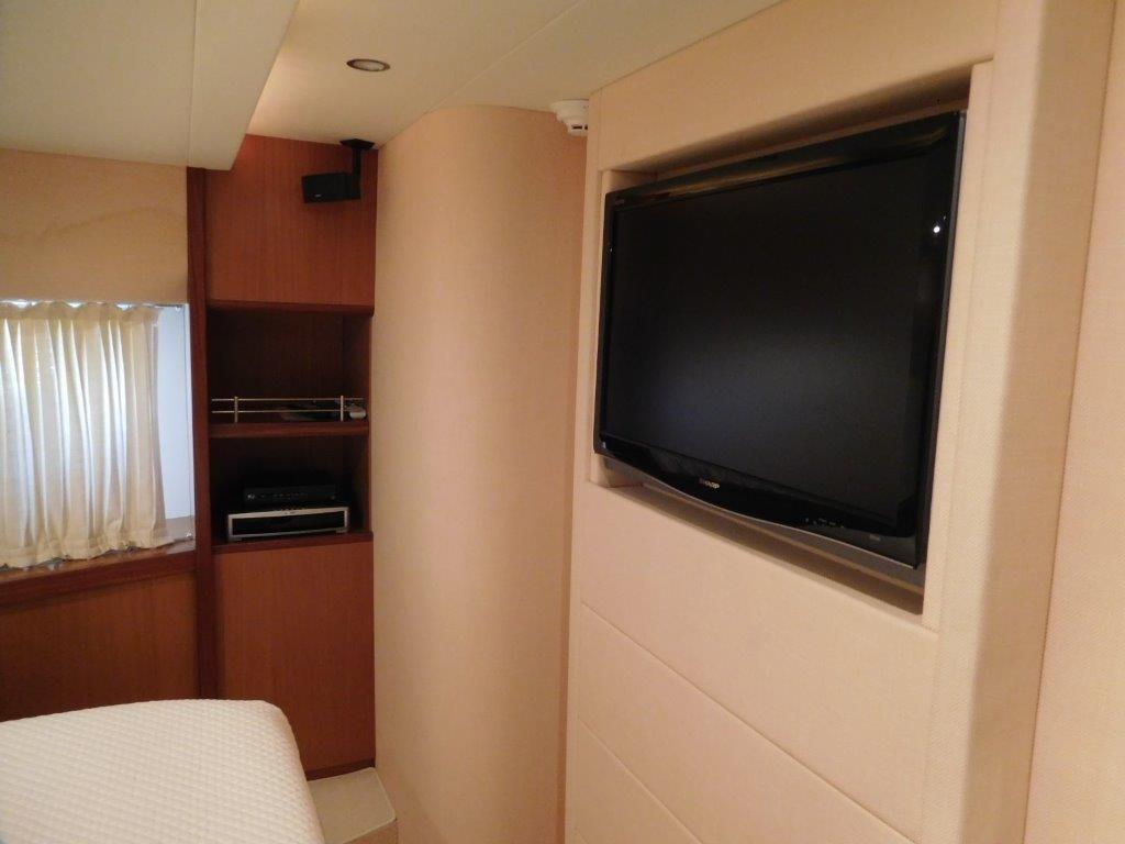 VIP Stateroom - Sharp TV