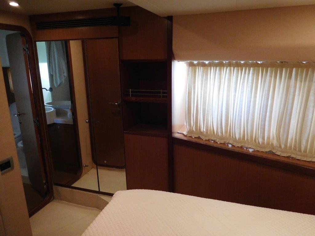 VIP Stateroom - Mirrored Hanging Locker