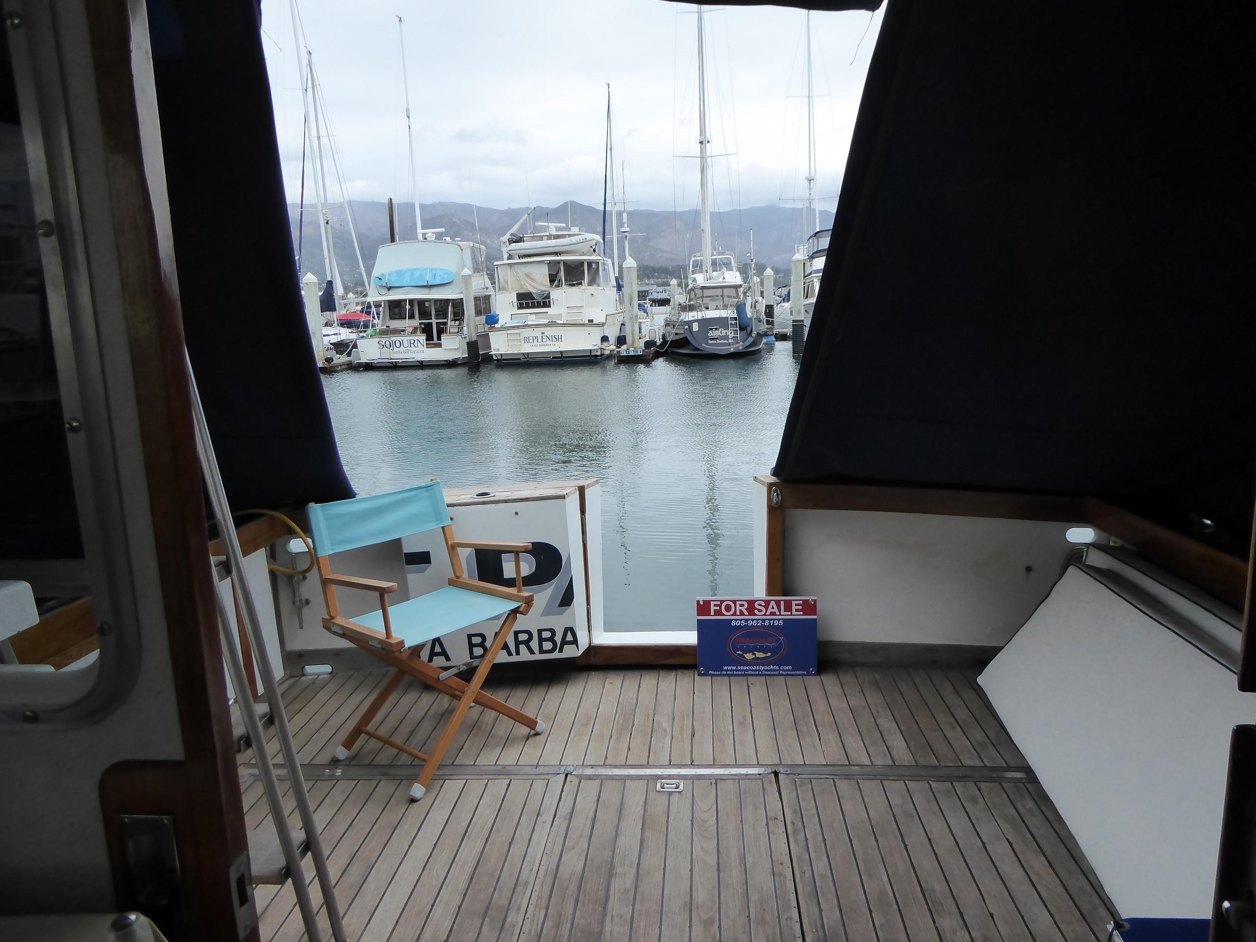 43' Custom Santa Barbara Sport Fisher 1972 | Seacoast Yachts
