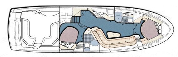 Manufacturer Provided Image: 540 - cabin arrangement