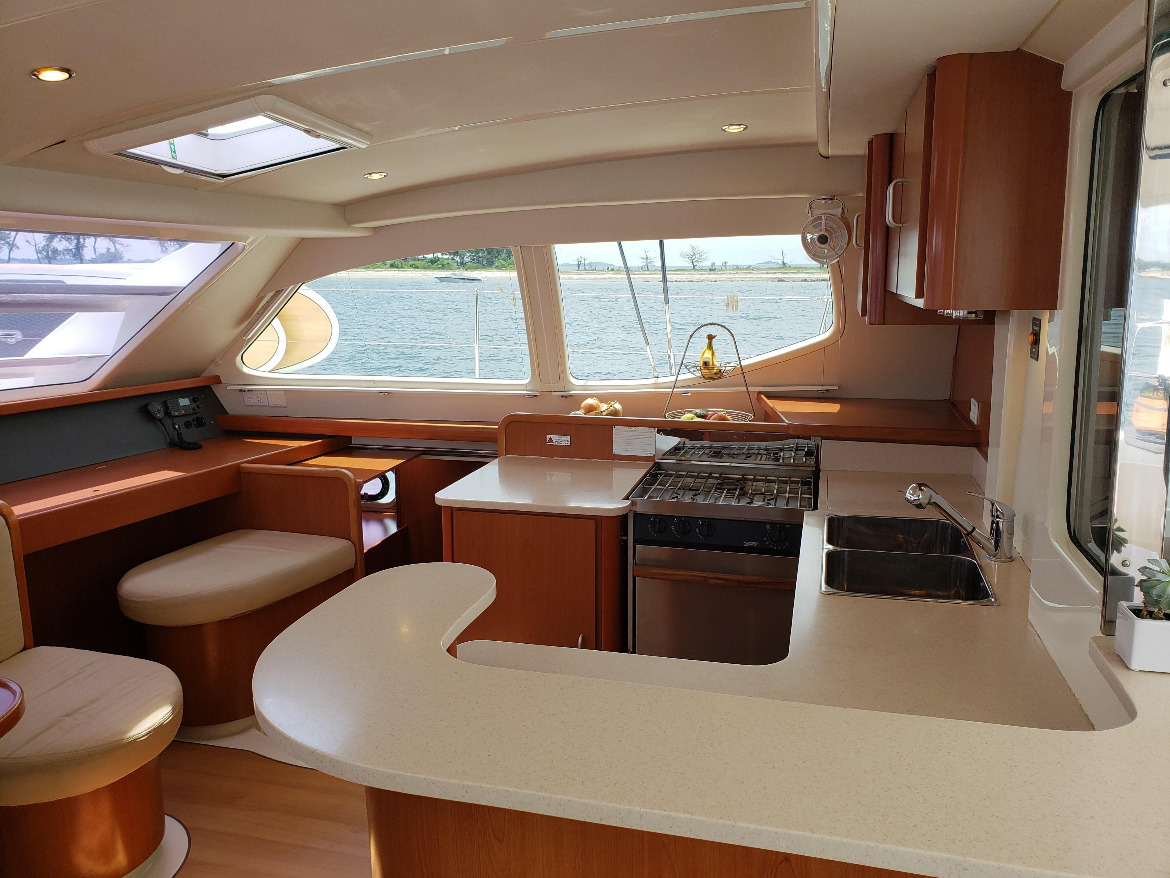 Leopard 46 Sailing Catamaran for sale | Leopard Brokerage