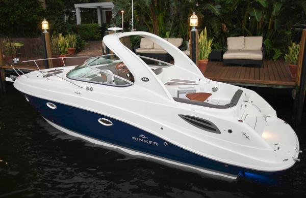 2013 Rinker boat for sale, model of the boat is 290 Express Cruiser & Image # 2 of 10