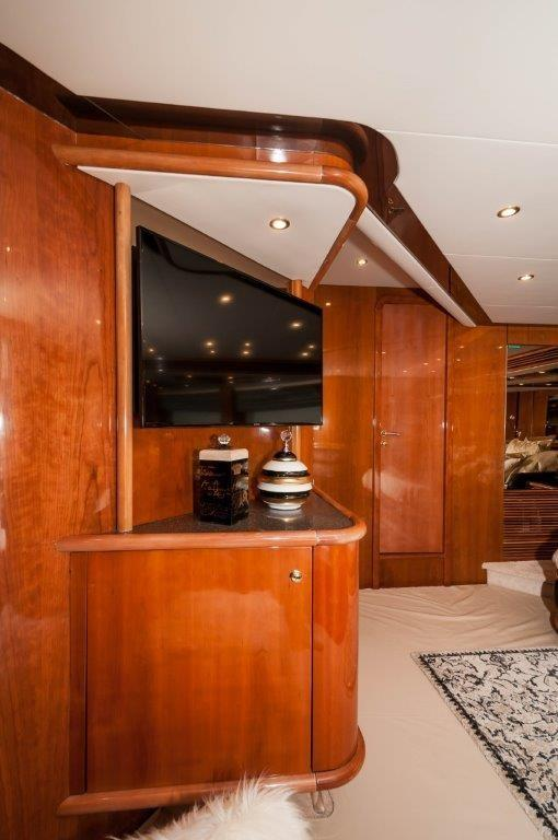 Master Stateroom TV/Entertainment