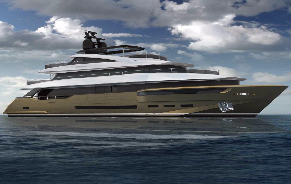 Manufacturer Provided Image: DREAMLINE 46 Gold Hull