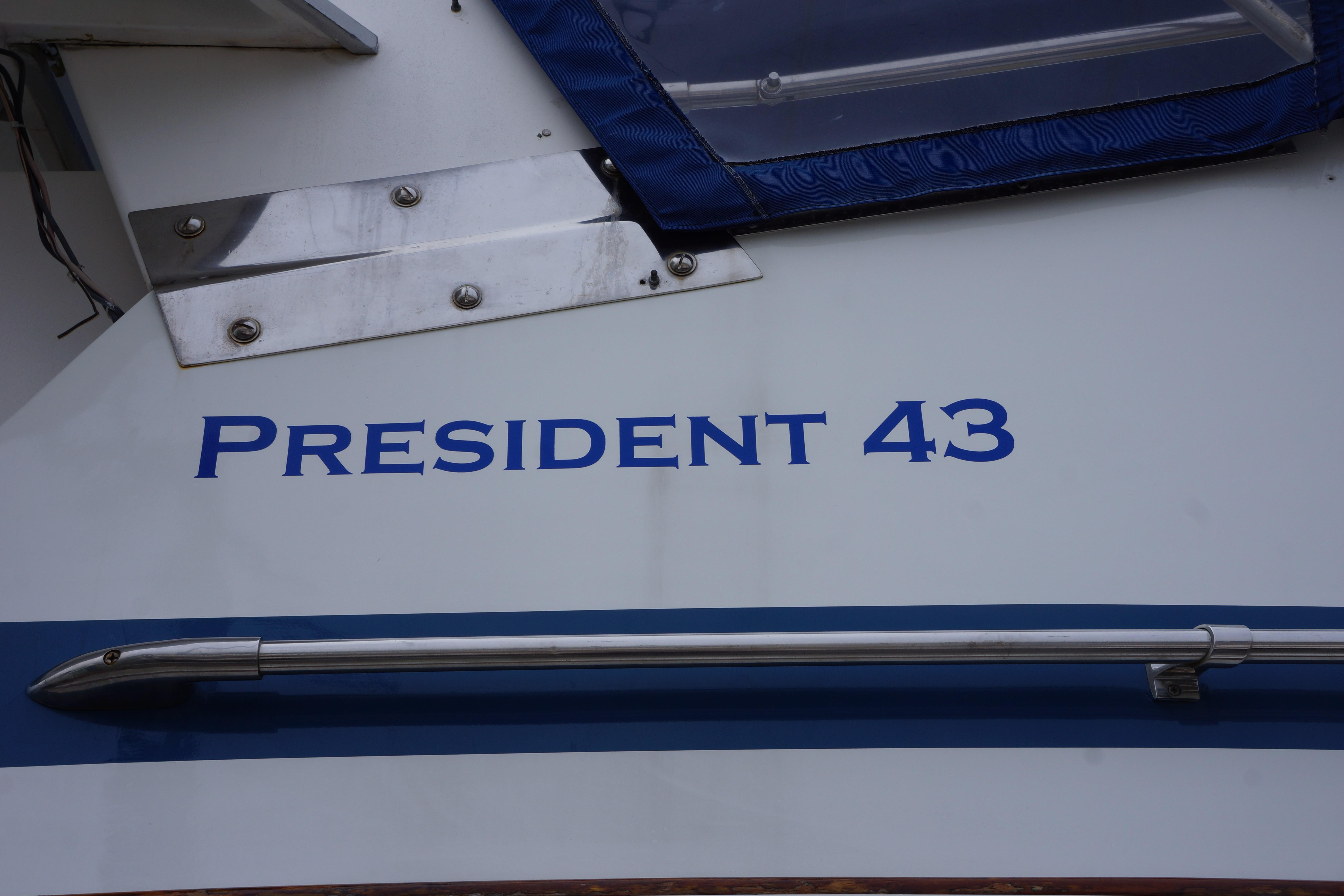 President 43 Double Cabin - Photo: #11
