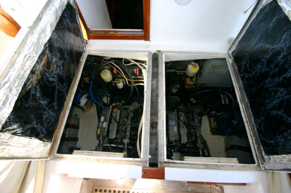Engine Compartments.