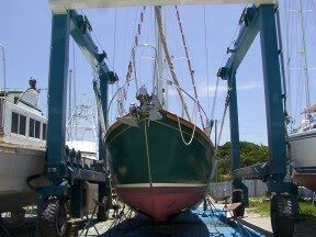 Bow View Hauled.
