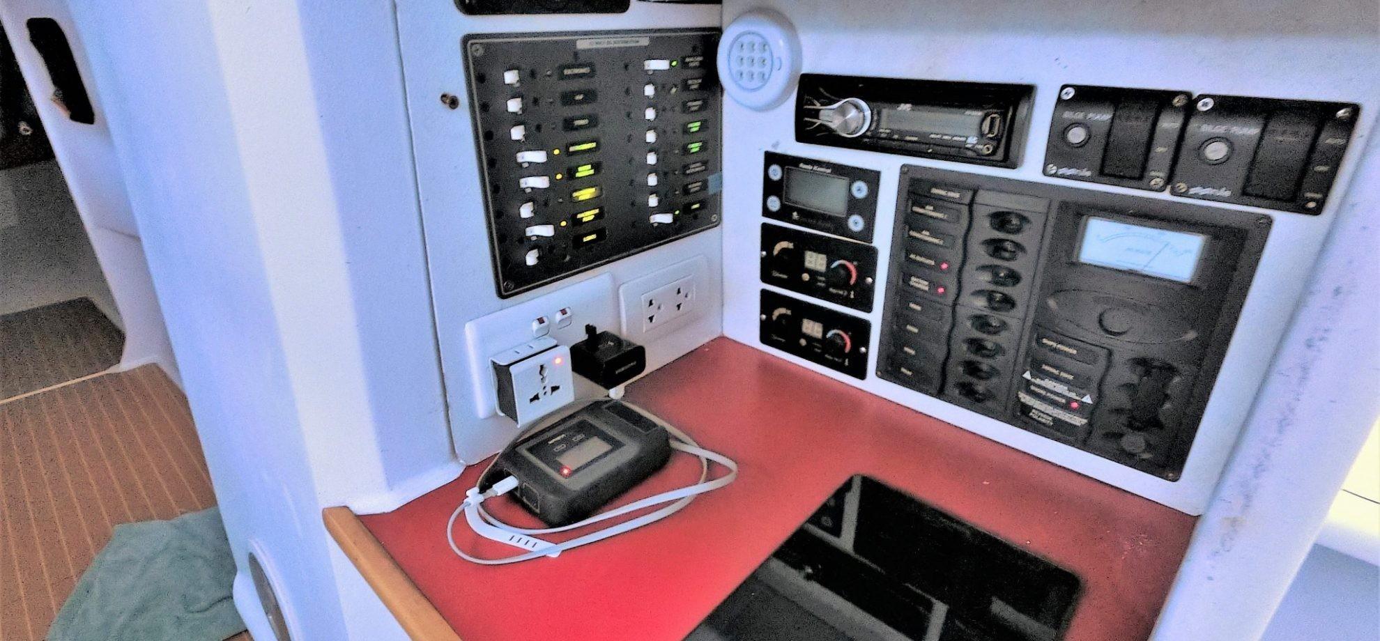 Fully equiped Nav station