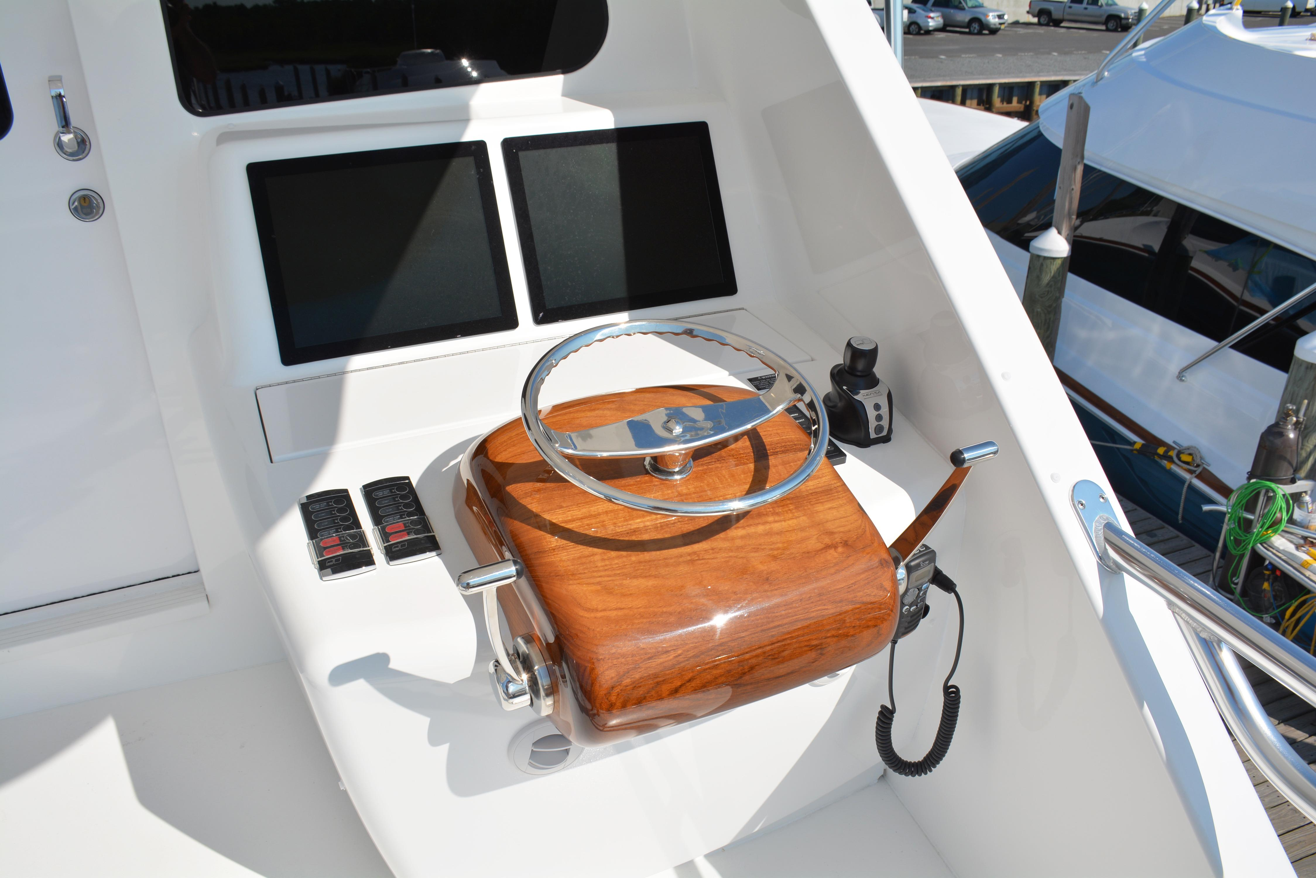 Aft Helm Station