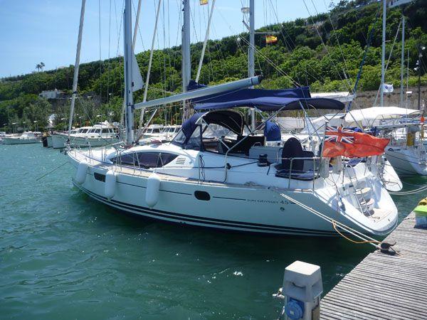 Jeanneau Sun Odyssey 45DS boat for sale