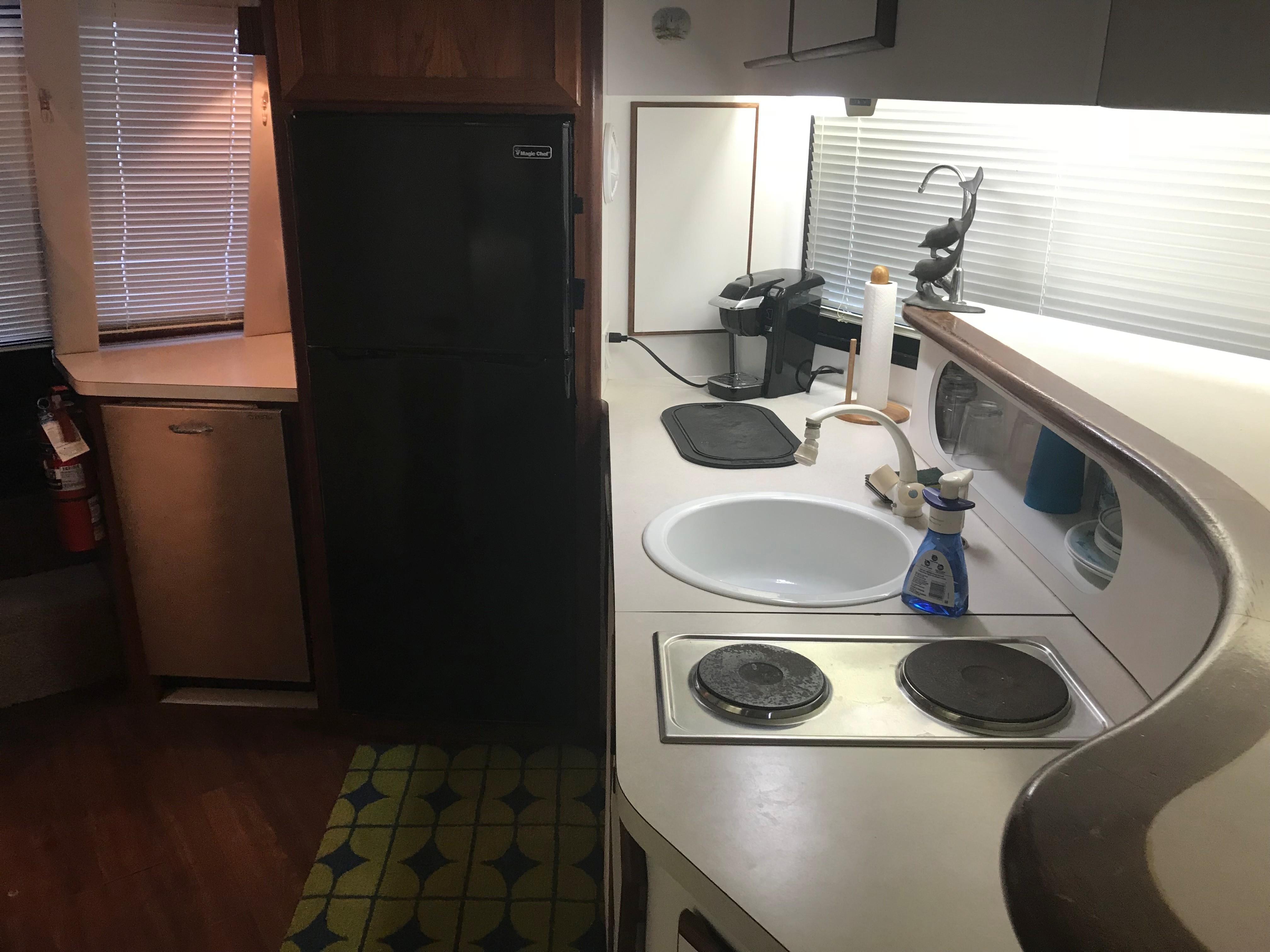 Bluewater Yachts 48 Houseboat - Galley