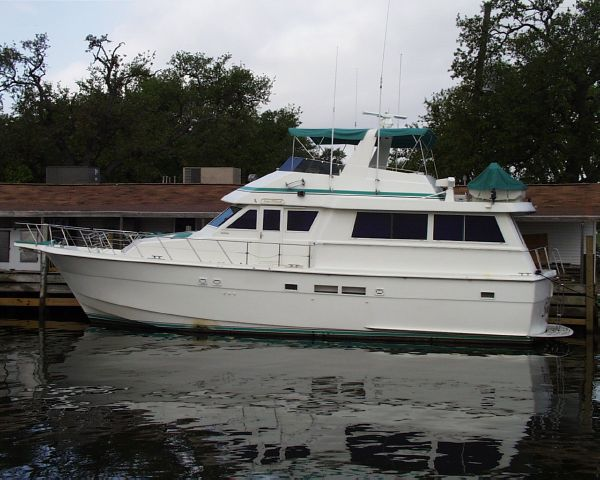 1989 Hatteras Extended Deckhouse
