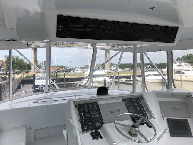 Flybridge Console View Forward