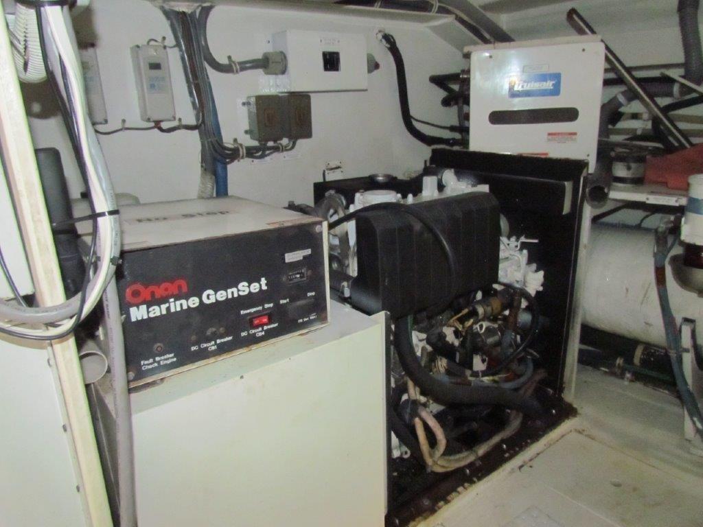 Engine Room Port Generator