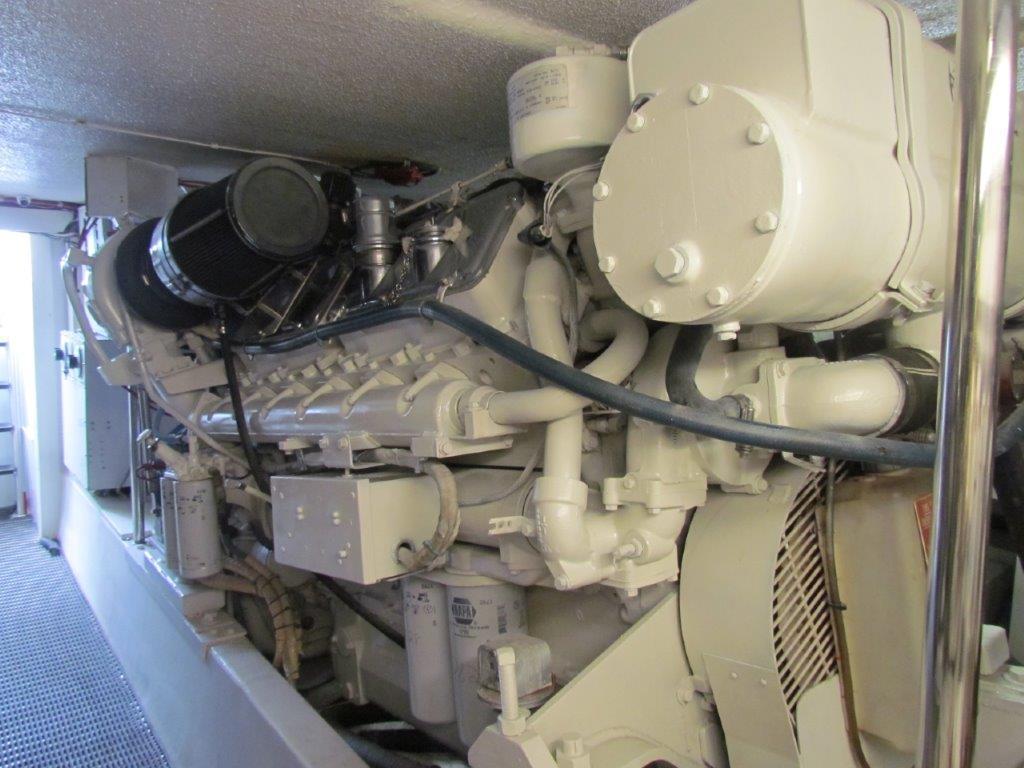 Engine Room Port Engine