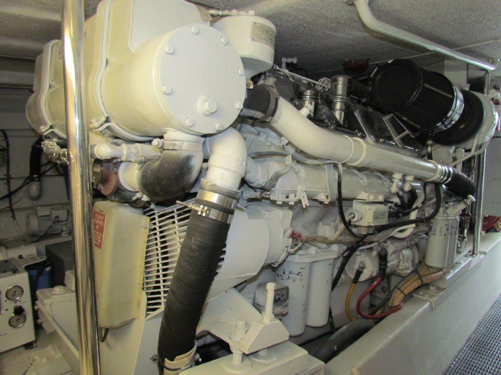 Engine Room Starboard Engine
