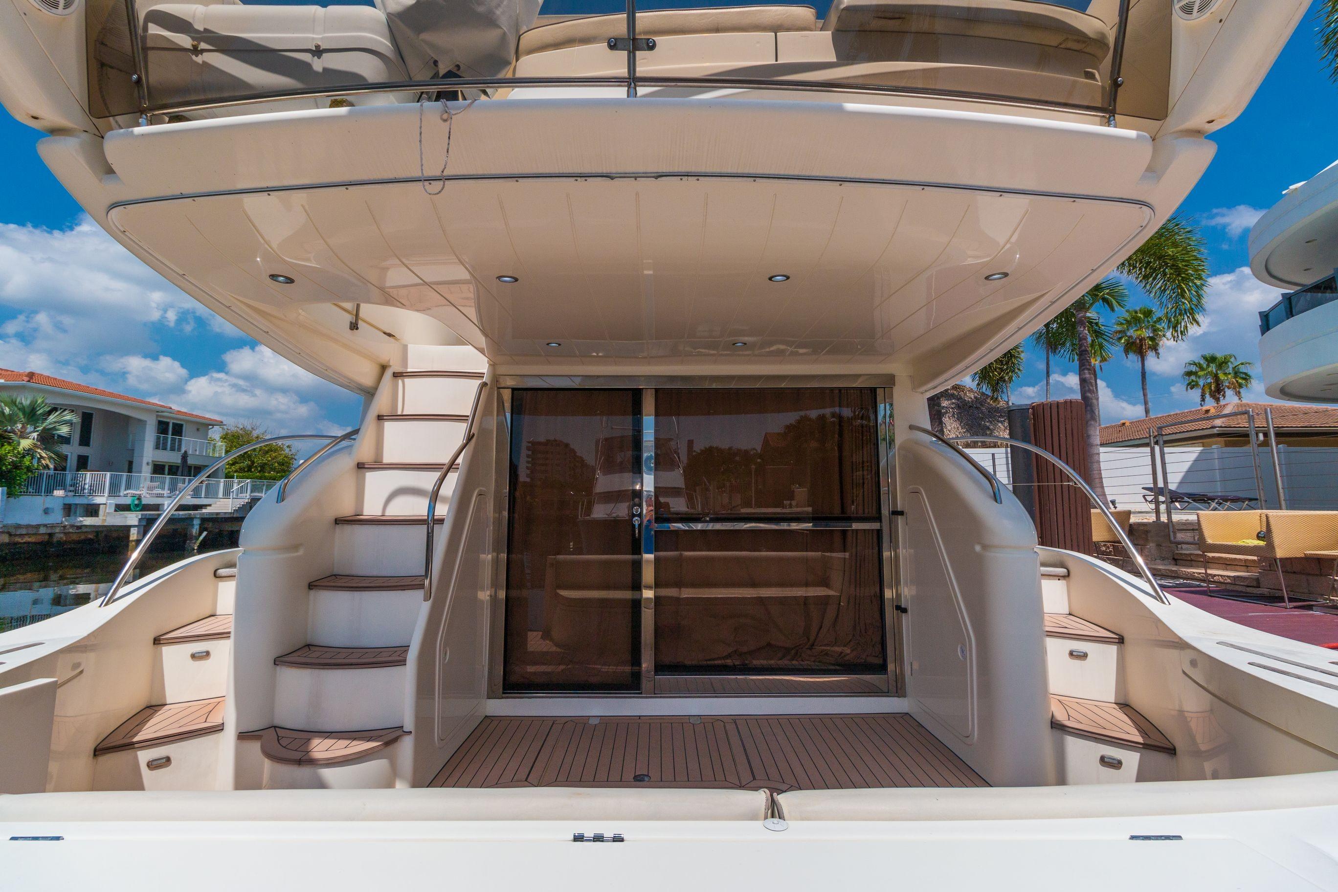 61 Princess Drakkar 2002 Fort Lauderdale Denison Yacht Sales