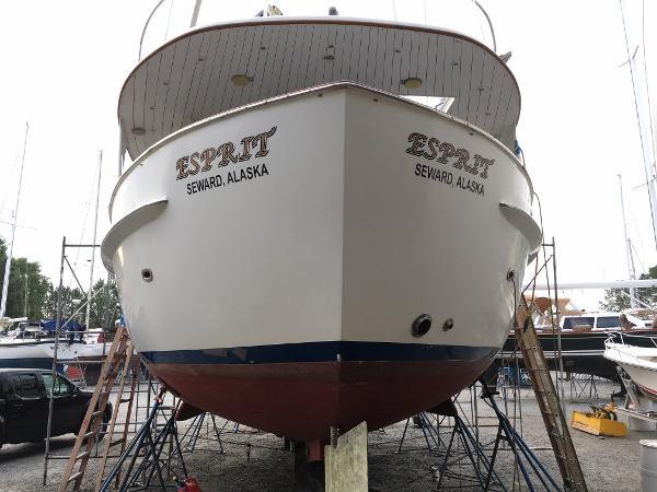 Sparkman & Stephens Custom Trawler For Sale New England