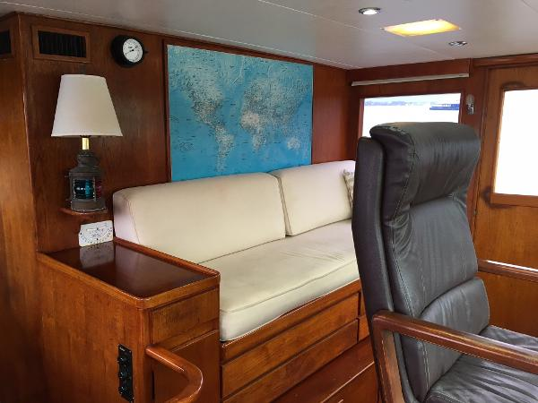 Sparkman & Stephens Custom Trawler Broker Connecticut