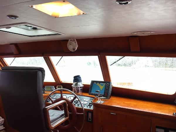 Sparkman & Stephens Custom Trawler For Sale Sell