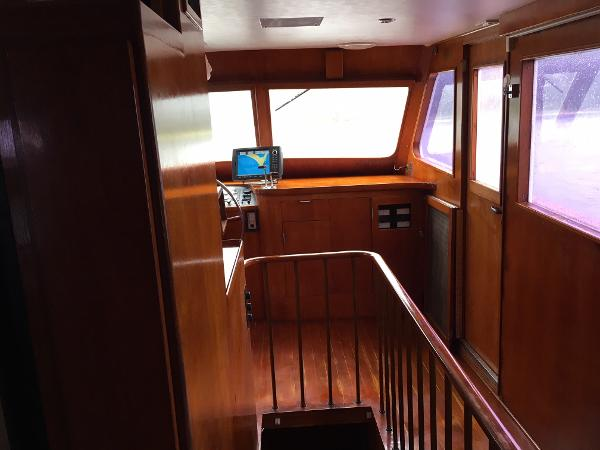 Sparkman & Stephens Custom Trawler Broker Maine