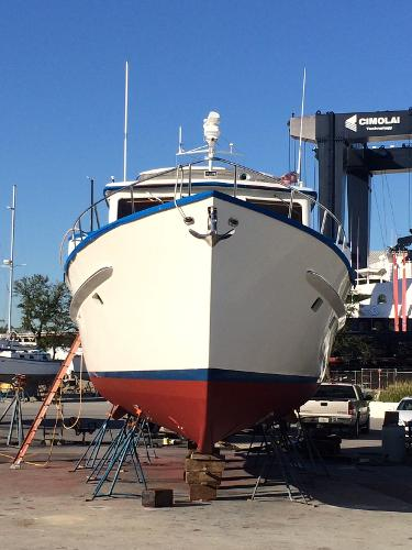 Sparkman & Stephens Custom Trawler Broker Sell
