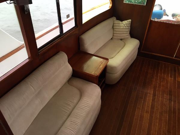 Sparkman & Stephens Custom Trawler For Sale New England