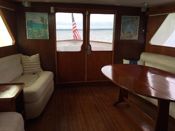 Sparkman & Stephens Custom Trawler Broker New England