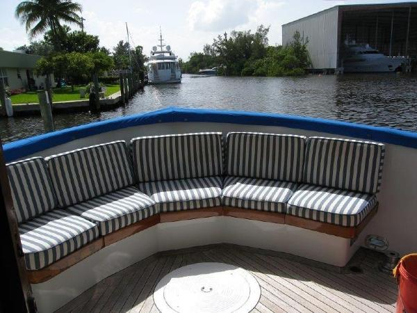 Sparkman & Stephens Custom Trawler Broker Purchase