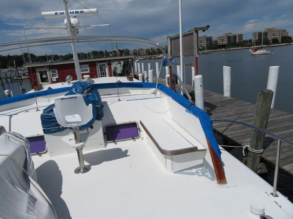 Sparkman & Stephens Custom Trawler Purchase Maine