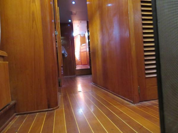 Sparkman & Stephens Custom Trawler Purchase New England