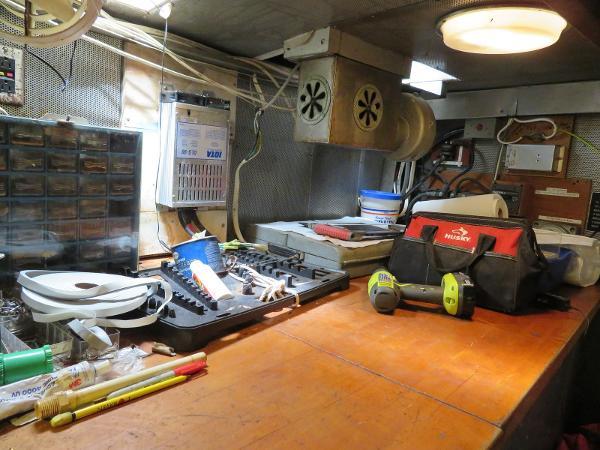 Sparkman & Stephens Custom Trawler Broker Purchase
