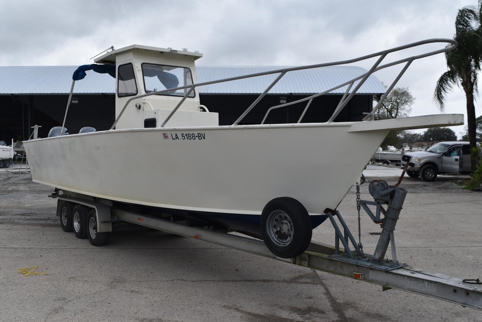 1988 Alumafab boat for sale, model of the boat is 30ft Dive/Workboat & Image # 11 of 17