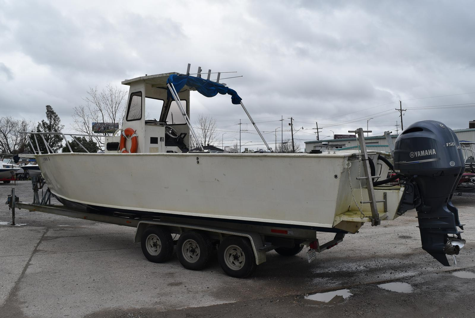 1988 Alumafab boat for sale, model of the boat is 30ft Dive/Workboat & Image # 14 of 17