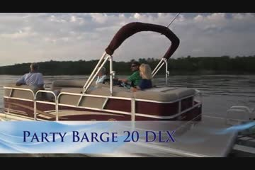 Sun Tracker Party Barge 20 DLXvideo