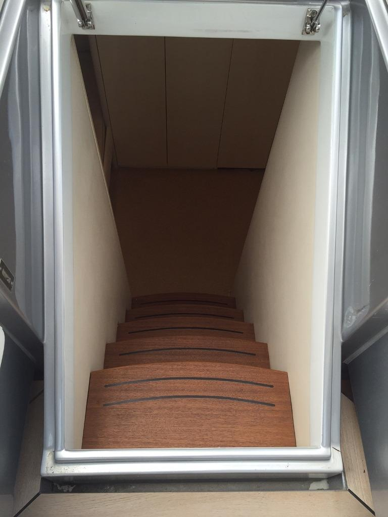 aft cabin stairs