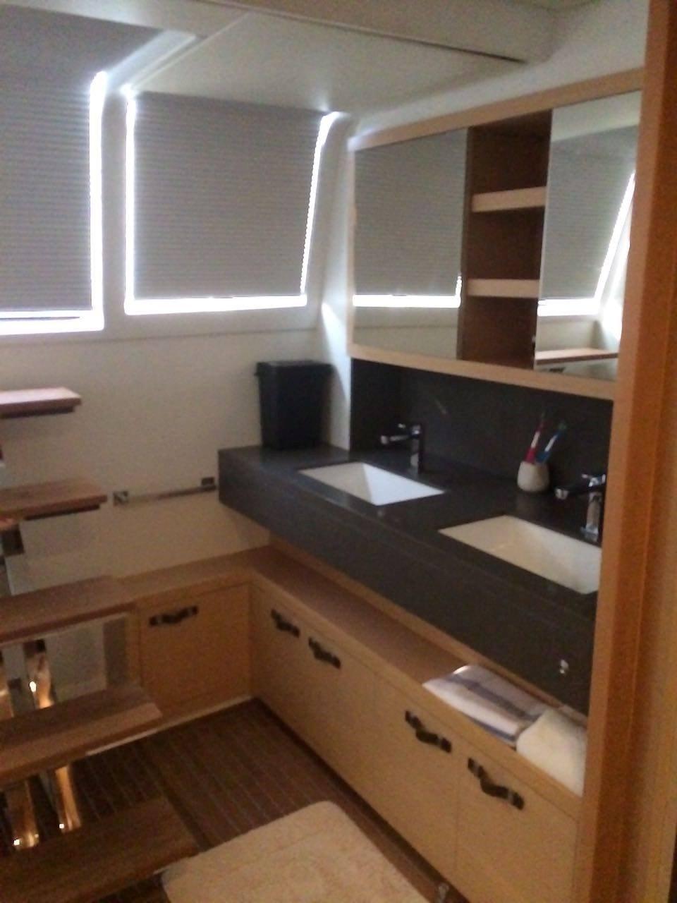 Master cabin sink