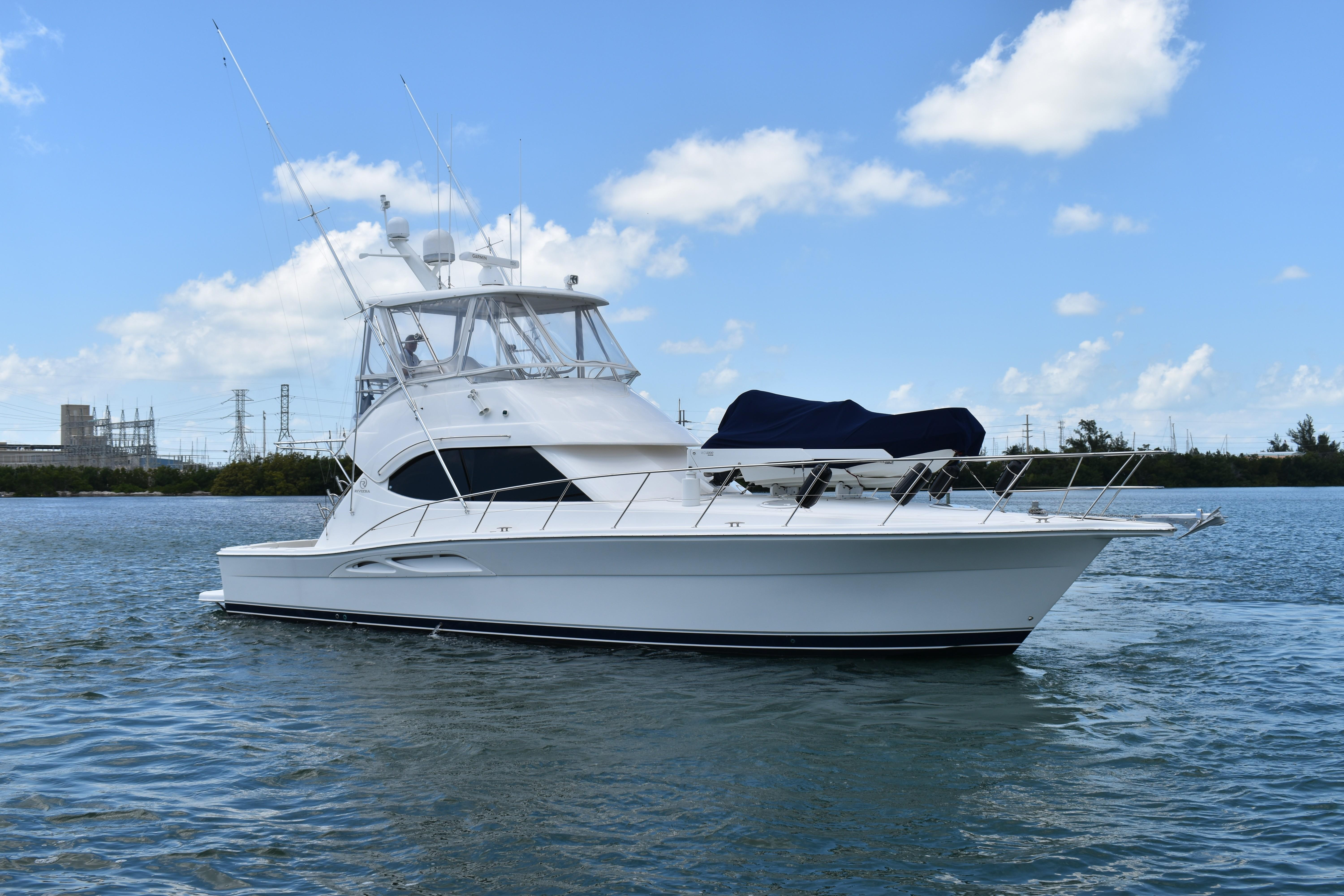 This 2007 42' Riviera Convertible for Sale - SYS Yacht Sales