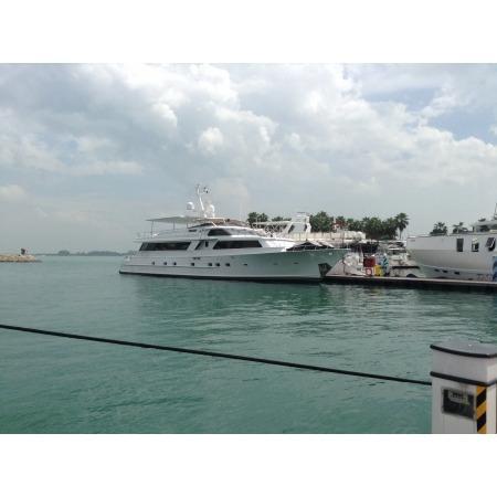 At Marina In Singapore