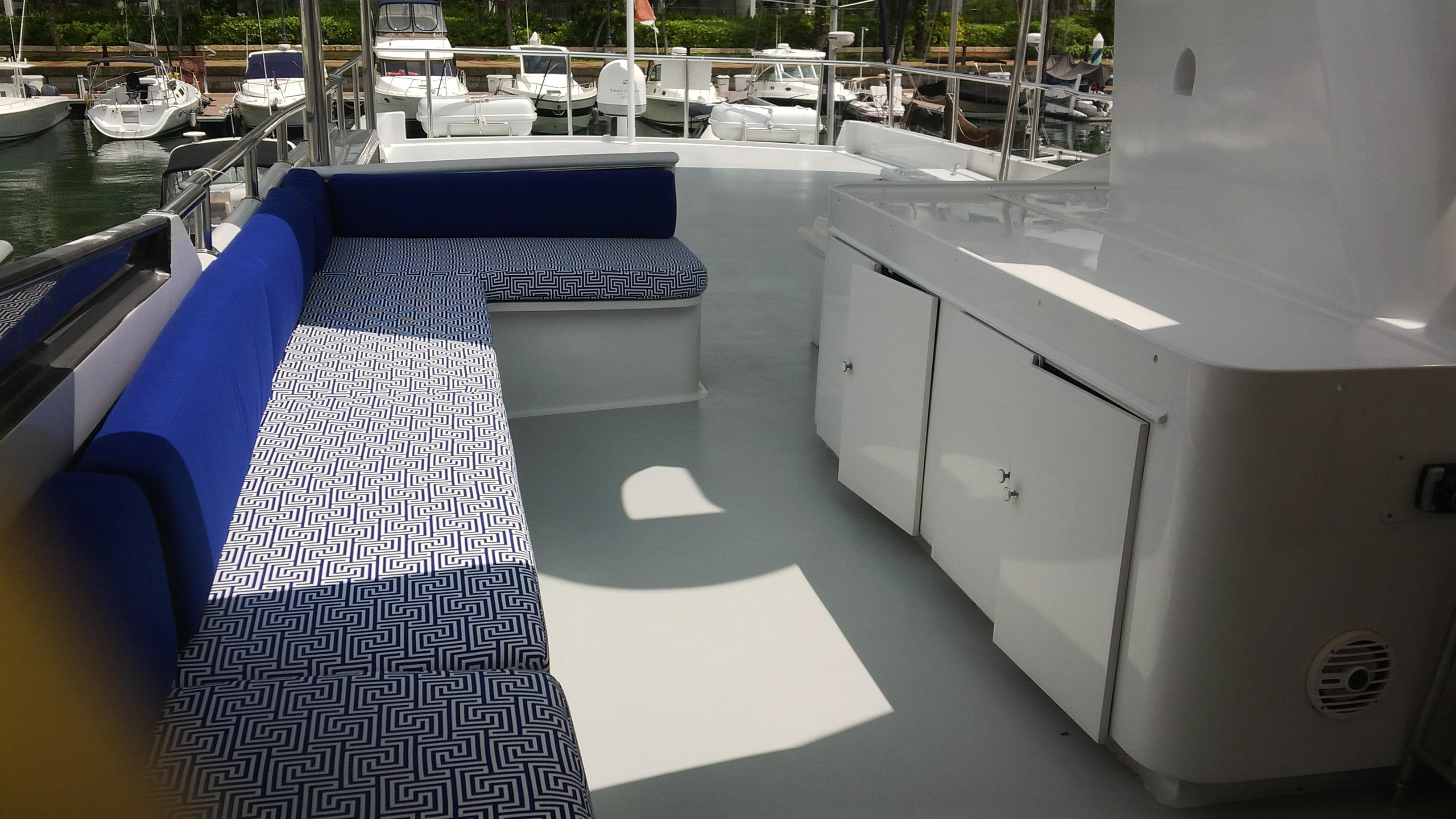 Looking Aft - Sbd Side Seating