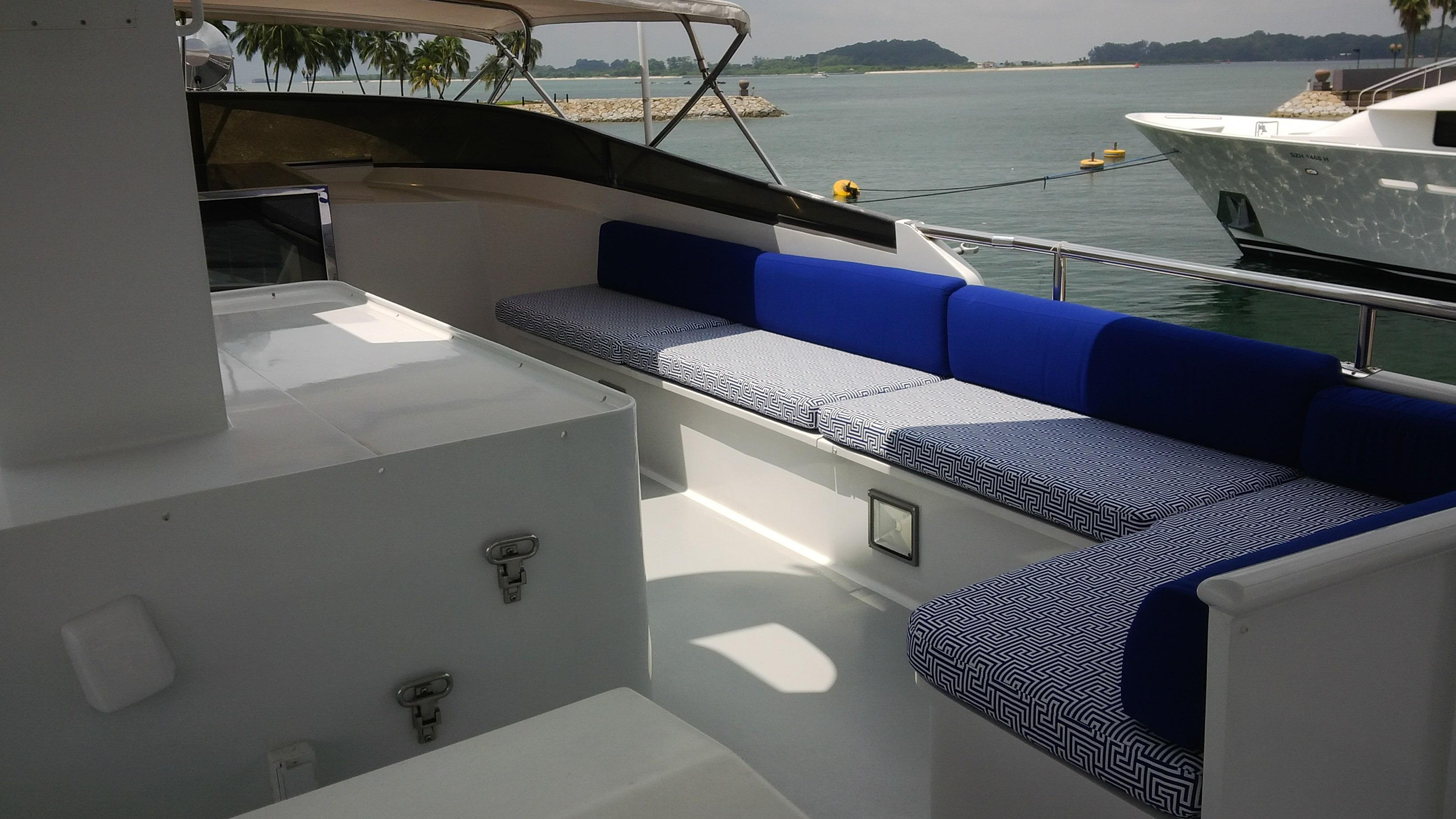 Port Side Seating Area